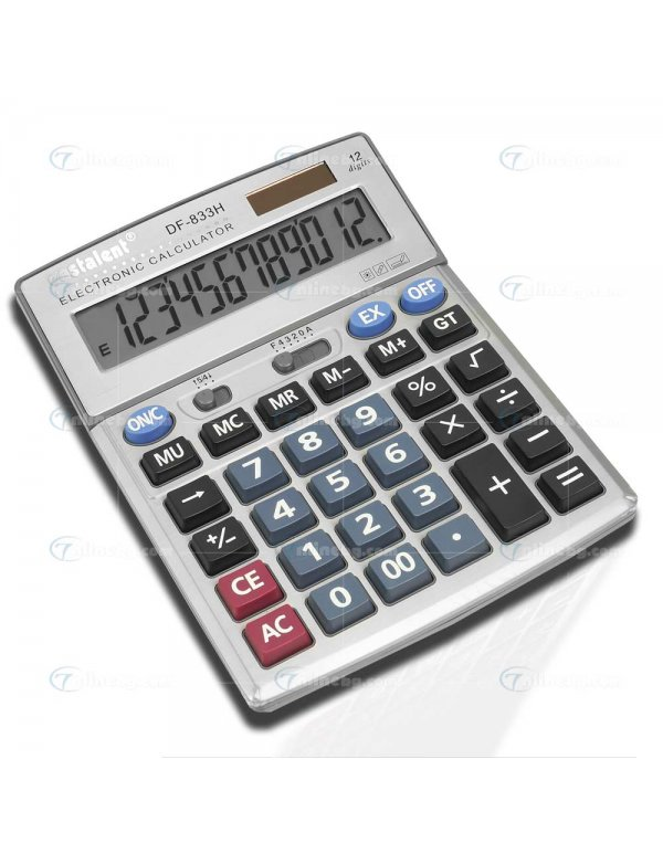 Метален калкулатор DF-833H - Видяно по TV