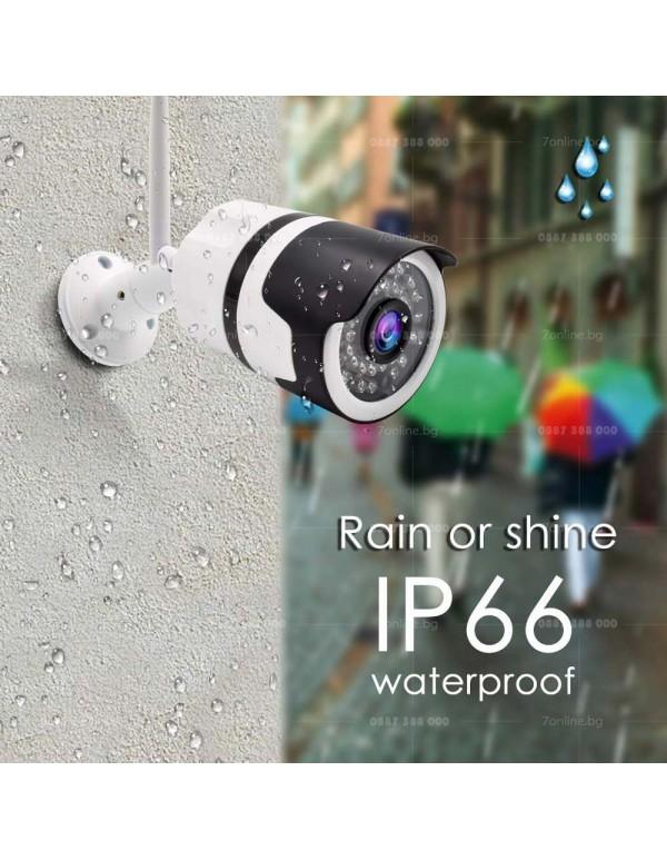 Безжична Bullet камера Wi-FI-2mpx - Видеонаблюдение