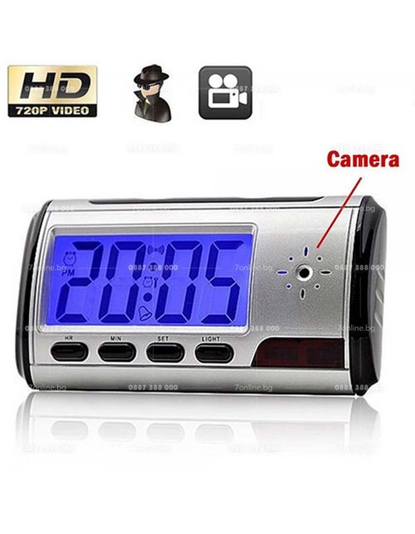 Spy Clock - Камера в часовник -