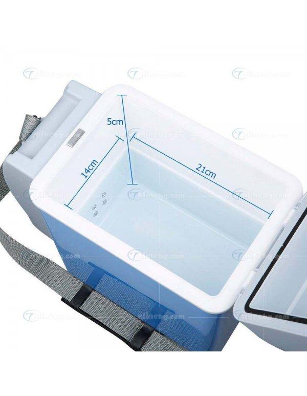 Хладилна чанта 7.5л/12V с опция за охлаждане и затопляне -
