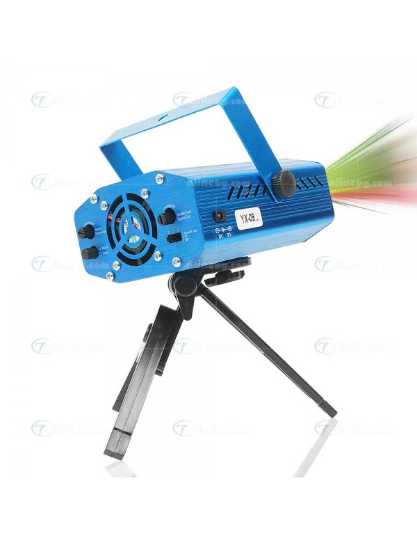 Лазерен проектор Party Shower - LED осветление