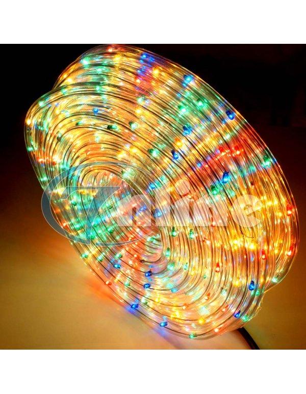 Светещо LED въже - 20м Multicolor - Видяно по TV
