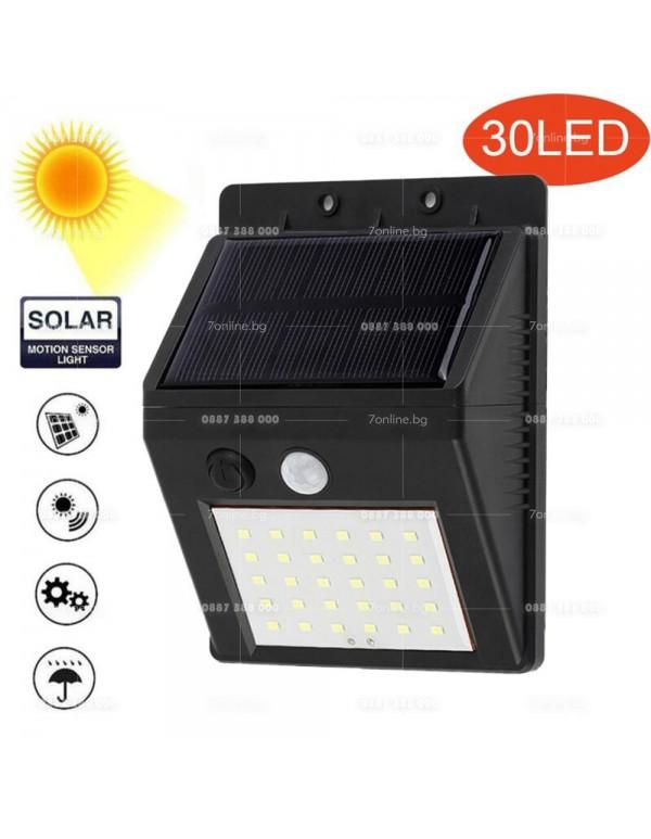 LED соларен прожектор със сензор - Видяно по TV
