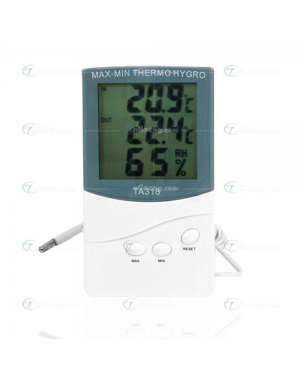 Дигитален термометър и влагомер - Домакински уреди