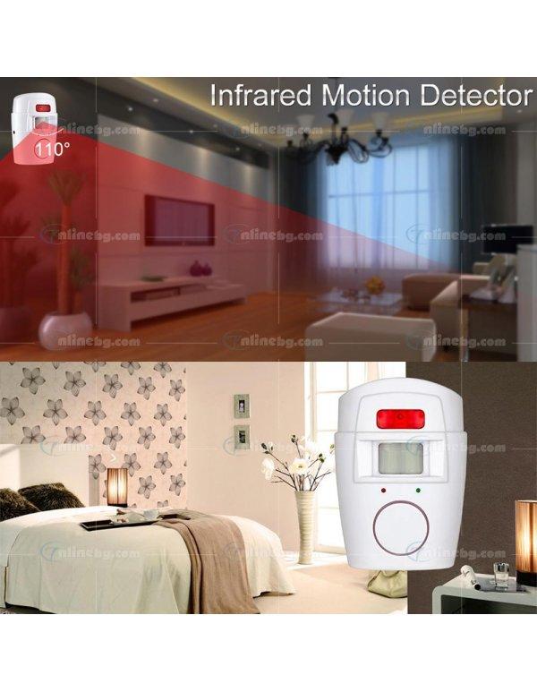 Безжична алармена система със сензор за движение - Видяно по TV