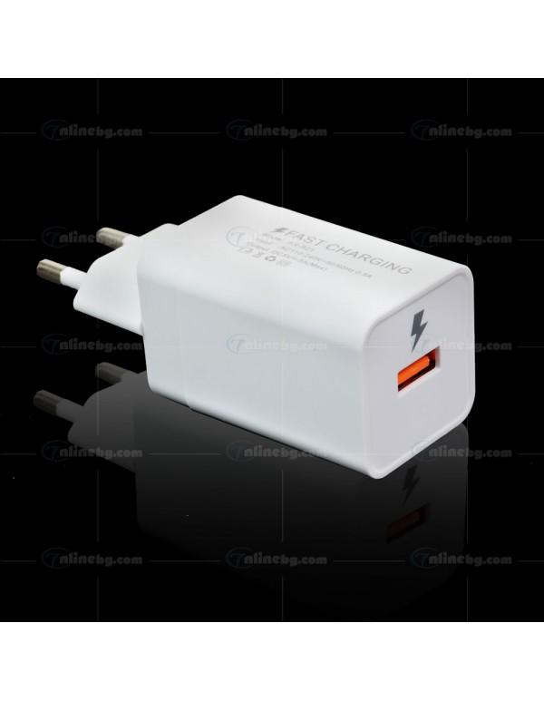 Захранващ адаптер с USB - Телефонни аксесоари