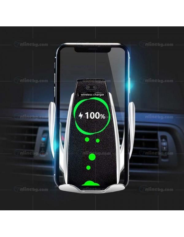 Qi Безжично зарядно със сензор за автомобил -