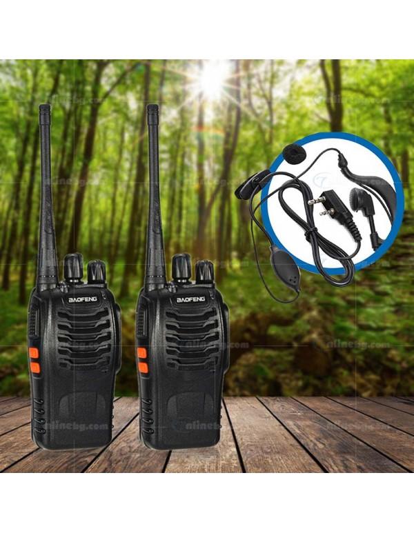 2бр. Радиостанции Baofeng BF-888S -