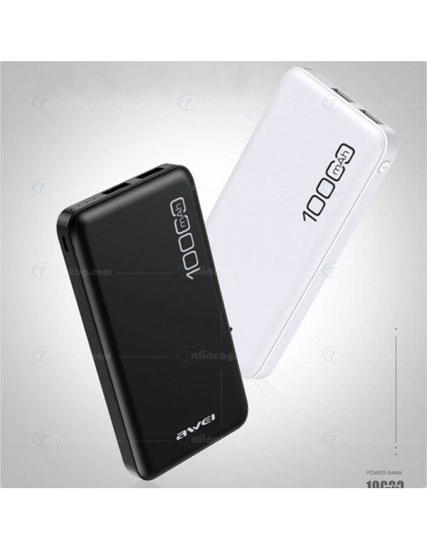 Външна Батерия Power Bank 10000mAh -