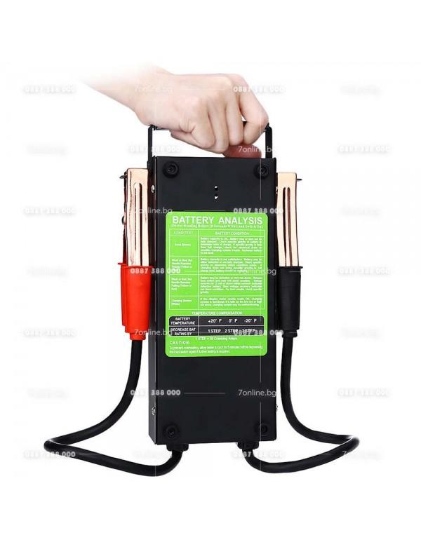Тестер за акумулатор с волтметър -