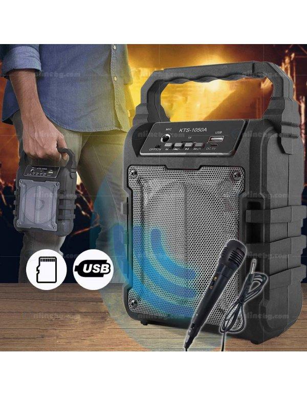 Bluetooth Тонколона KTS-1050 + ПОДАРЪК: Микрофон - Тонколони