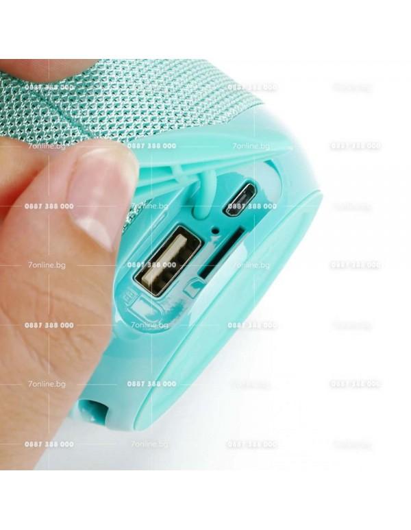 Bluetooth Тонколонка Т&G BASS FLEX -