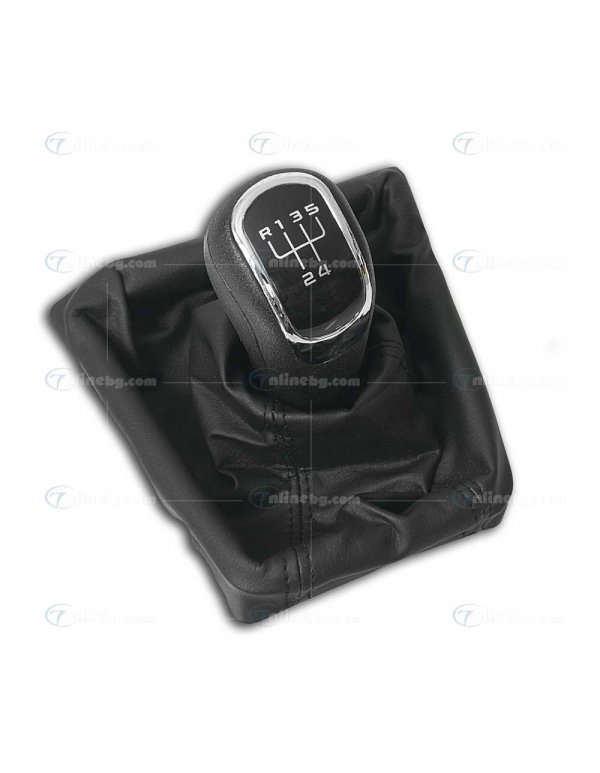 Топка за скоростен лост с маншон Skoda SUPERB ( 08-12) 5 скорости - Топки за скоростен лост